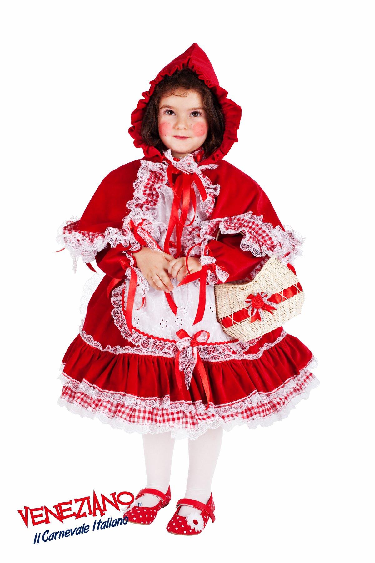 a5bf415cde strój karnawałowy dla dziewczynki - strój Czerwonego Kapturka